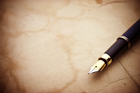 carta e penna: Documenti d'epoca e penna