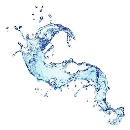water beautiful: water splashing Stock Photo