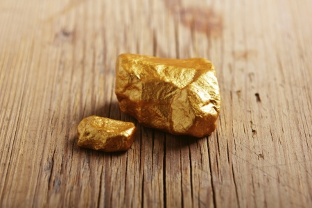gold rush: Gold nuggets