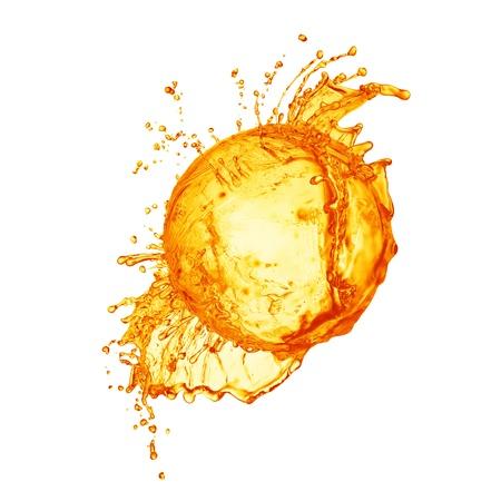 mango fruta: Splash de jugo fresco