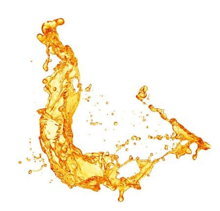 sinaasappelsap splash Stockfoto