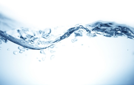 水の波 写真素材