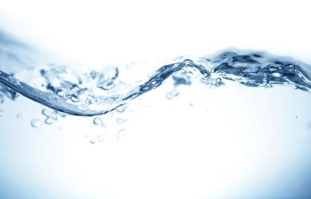 gota de agua: Ola, agua, Foto de archivo