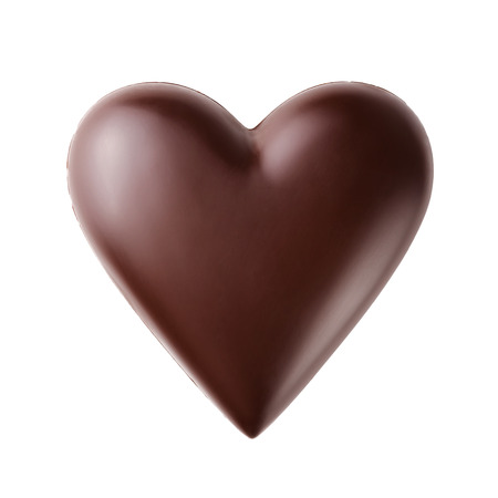 Chocolate heart  免版税图像