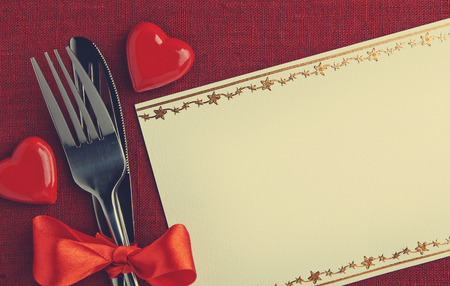 eating dinner: Valentine day dinner