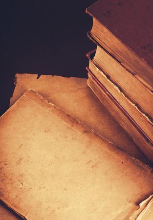 Very Old Book closeup photo