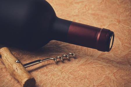 bouteille de vin: Ouvrir une bouteille de vin