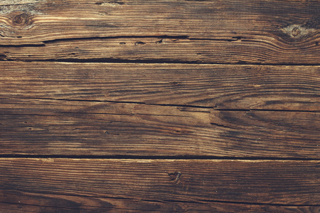 empty board: old wood background Stock Photo