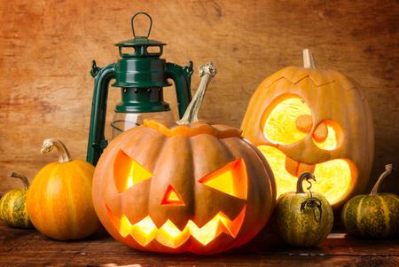 Halloween pumpkin Standard-Bild