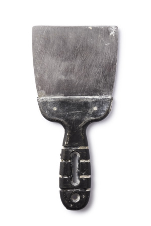 putty knives: Dirty spatula with path