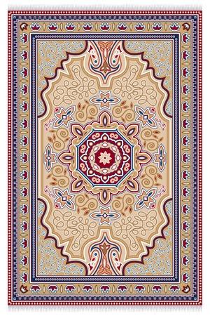 Carpet. Detailed illustration of a carpet.