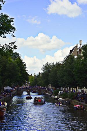 Amsterdam navigable channel