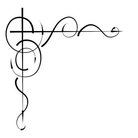 Original Vector Illustration. angular ornament of arrows for the design of book pages, brochures, leaflets