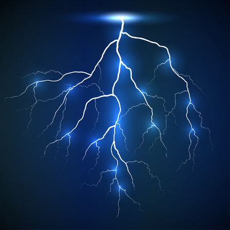 zapping: vertical flash of lightning