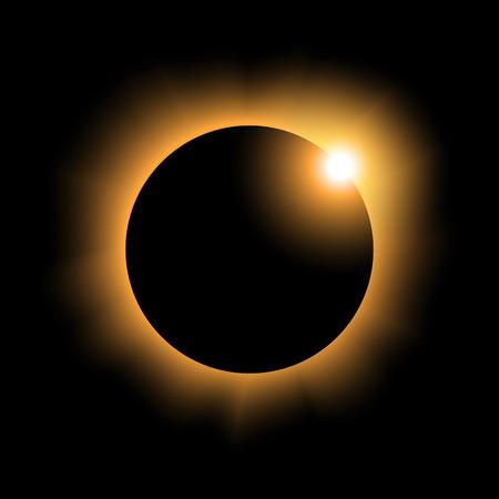 solar eclipse variant 2 yellow