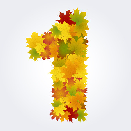 number one of the autumn leaves