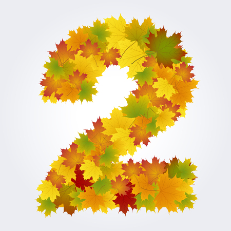 number two of the autumn leaves