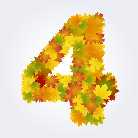 number four of the autumn leaves