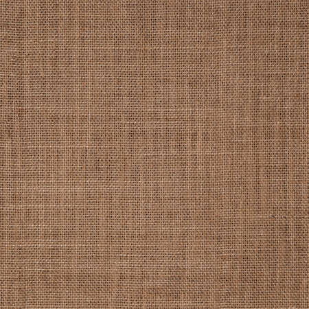 Textured background of coarse khaki burlap fabric, with a sub-average thread density and visible gaps.