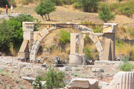 brothel: Antique ruins in a city in the Efes, Turkey