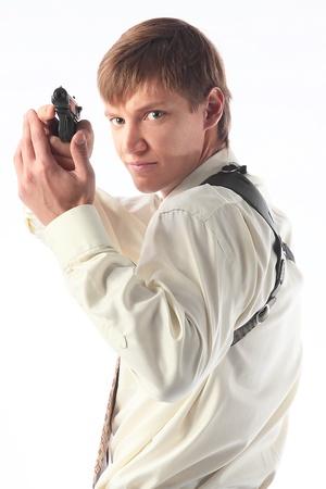 fbi: Le jeune homme avec un pistolet