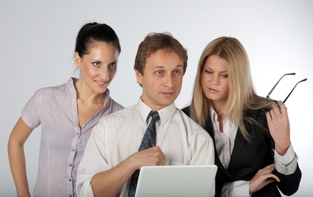 A group of young and successful men and women Stock Photo - 12322205