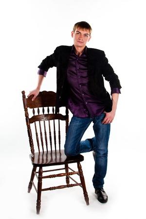 Portrait of a calm middle age man