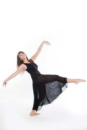 young and beautiful ballerina Stock Photo - 13950910