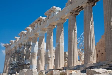 Parthenon in Acropolis, Athens photo
