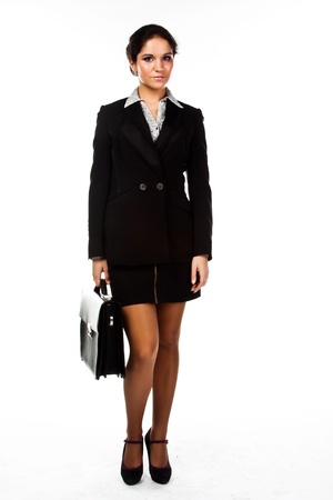 Young, beautiful and successful businesswoman Stock Photo - 17008559