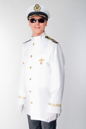 yachtsman: courageous captain sea ship