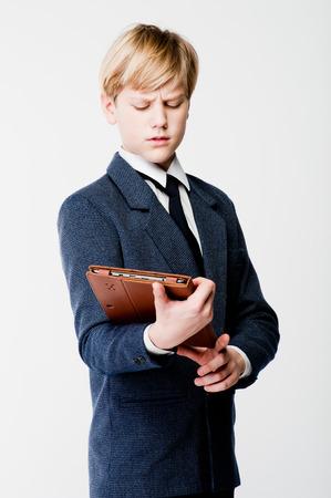 cute guy: young cute teen guy  Stock Photo