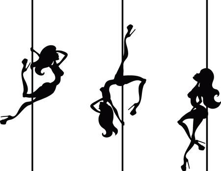 3 극 댄서 일러스트