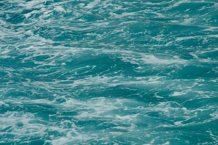 Ocean Water Background Stock Photo