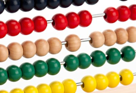 Close up Image of colorful abacus beads. Stock Photo - 6054662