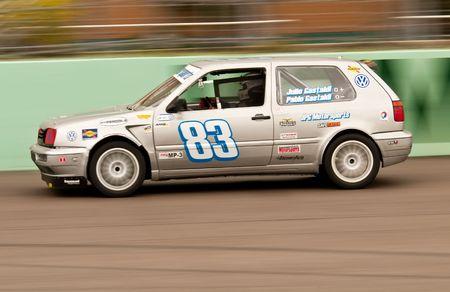 MIAMI - APRIL 18: Julio Gastaldi, from the JP Racing Team, accelerates during the FARA Races, April 18, 2010 in Miami, Florida.