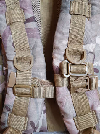 Straps and buckles tactical camouflage backpack