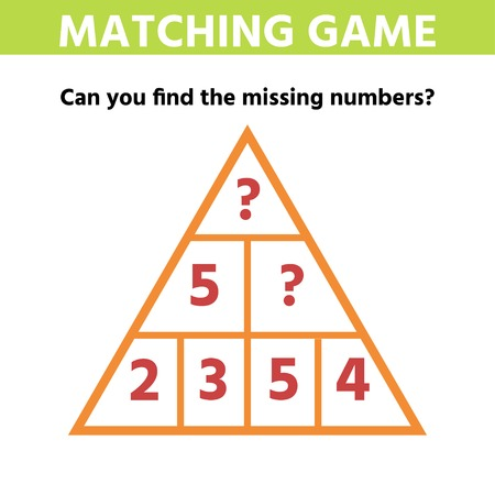 Math educational game for children. Can You solve this Children funny riddle entertainment. Find right answer. Mathematics vector activity page and game Ilustrace