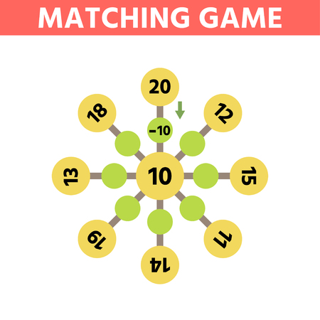 Math educational game for children.  Can You solve this? Children funny riddle entertainment. Find right answer. Mathematics vector activity page and game