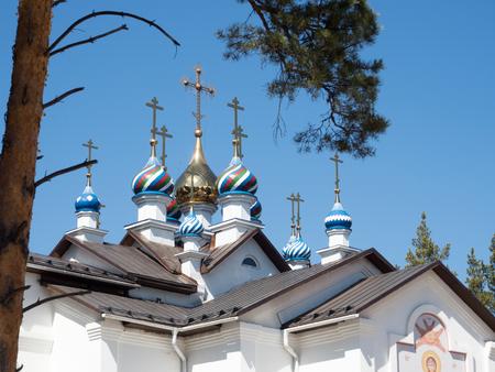 Domes of Russian orthodoxal church