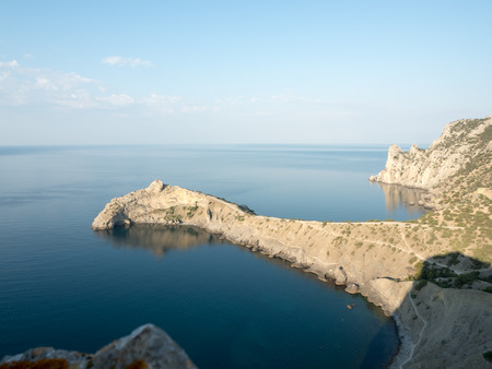 crimean bay at black sea