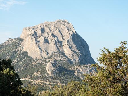 Amazing mountain peak in Crimea