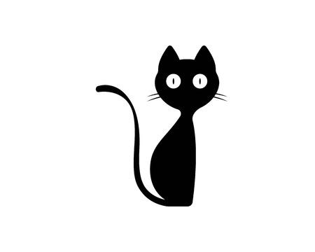 Katze züchtet niedliche Haustier Tier Set Vektor-Illustration