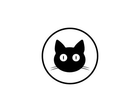 Katze züchtet niedliche Haustier Tier Set Vektor-Illustration Vektorgrafik