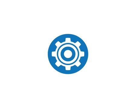 Gear Template vector icon illustration design