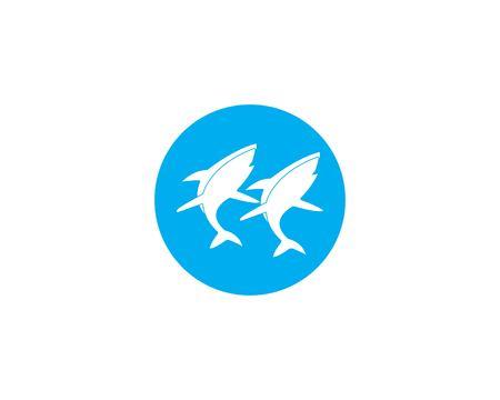 shark vector icon illustration design Ilustração