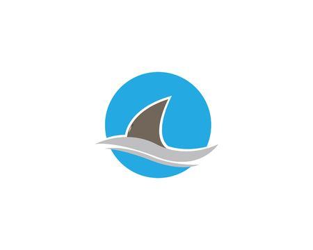 shark  vector icon illustration design