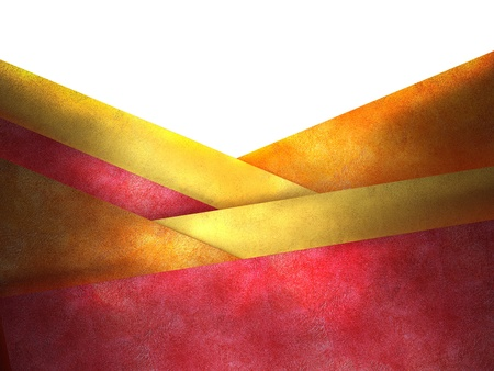 Abstract red and yellow background, layered graphic art design layout, insert your own text  photo