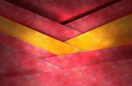 Abstract red and yellow background, layered graphic art design layout  photo