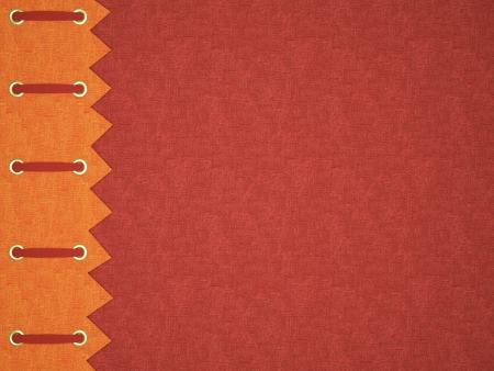 Red cover for an photo album. Beautiful background for scrapbooking.
